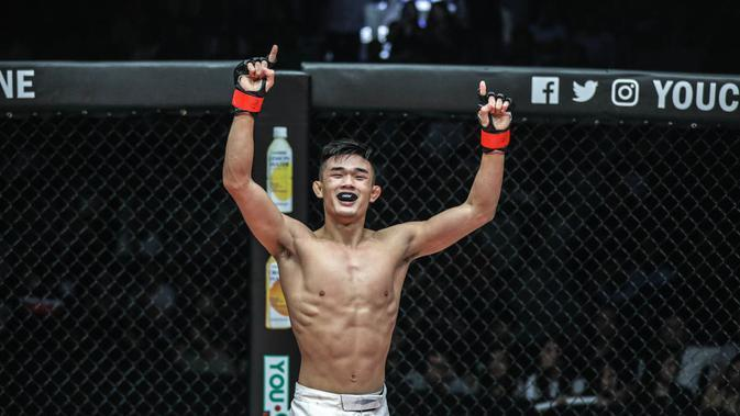 Christian 'The Warrior' Lee. (dok ONE Championship)