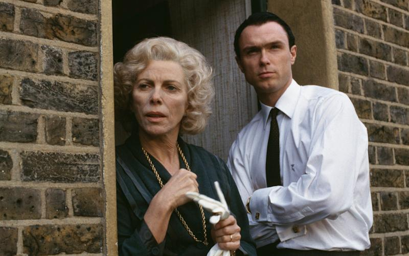 Billie Whitelaw and Gary Kemp in The Krays - Getty
