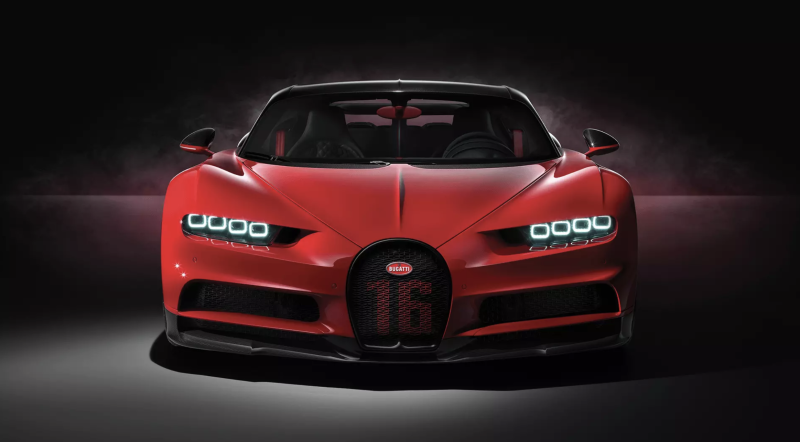 Bugatti builds $25m one-off hypercar for former boss