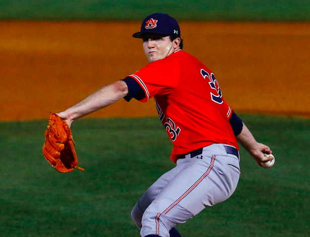 "The <a class=""link rapid-noclick-resp"" href=""/mlb/teams/det"" data-ylk=""slk:Tigers"">Tigers</a> drafted pitcher Casey Mize with the top pick of the 2018 MLB Draft. (AP Photo)"