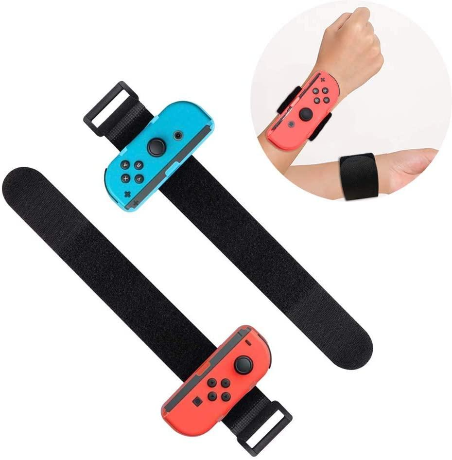 2 Pack Wrist Bands for Joy Con (Photo: Amazon)