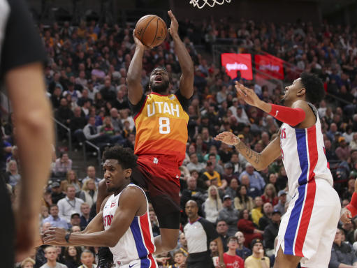 Pistons get rolled over by Jazz Monday night