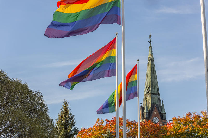 Queer theologians have for years been preaching a gospel of love and inclusion. (Niklas Emmoth via Getty Images)