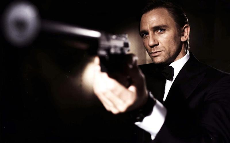 Daniel Craig as James Bond - PA