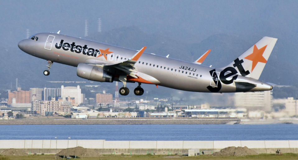 A Jetstar passenger from Melbourne has tested positive to coronavirus. Pictured is a stock image. Source: AAP, file