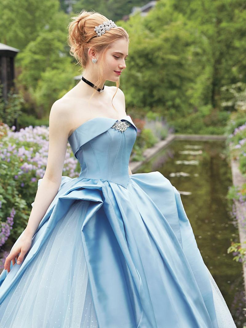 These Disney Princess Wedding Dresses Are Downright Magical