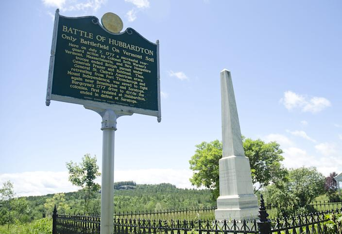 The Hubbardton Battlefield was the site of a key rear-guard action during July 1777 that allowed the Americans to regroup before battles at Bennington and Saratoga that turned the tide of the Revolutionary War. It was the only battle fought on Vermont soil during the war.