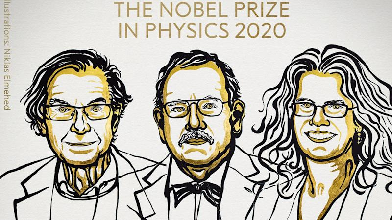 German, British and American scientists win Nobel physics prize for black hole discoveries