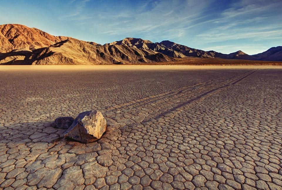 """<p><a href=""""https://www.nps.gov/deva/index.htm"""" rel=""""nofollow noopener"""" target=""""_blank"""" data-ylk=""""slk:Death Valley National Park"""" class=""""link rapid-noclick-resp""""><strong>Death Valley National Park </strong></a></p><p>It's weird to call this park one of the coolest as its known for its record breaking hot temperatures in the summer. The Furnace Creek Visitor Center is in California, but the park itself spans the border of California and Nevada. </p>"""