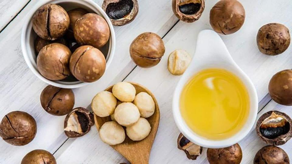 Non-greasy in texture, macadamia oil is magic for your hair