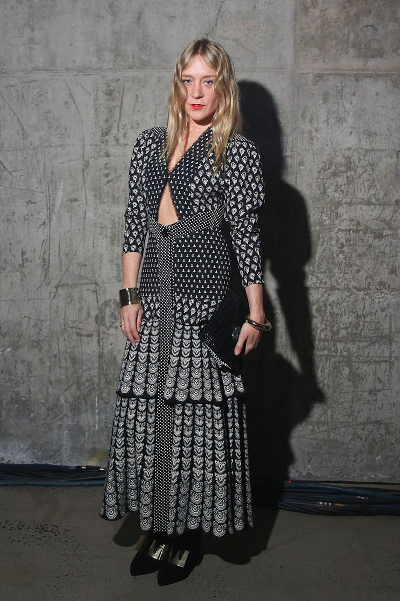 Chloë Sevigny What: Proenza Schouler Where: At the Proenza Schouler Arizona fragrance launch party, New York City When: February 10, 2018