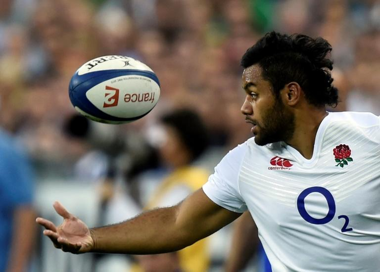 England forward Billy Vunipola in action during a 2015 match against France at the Stade de France