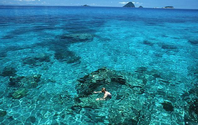 Pristine waters of The Perhentian Islands. Photo: Getty Image