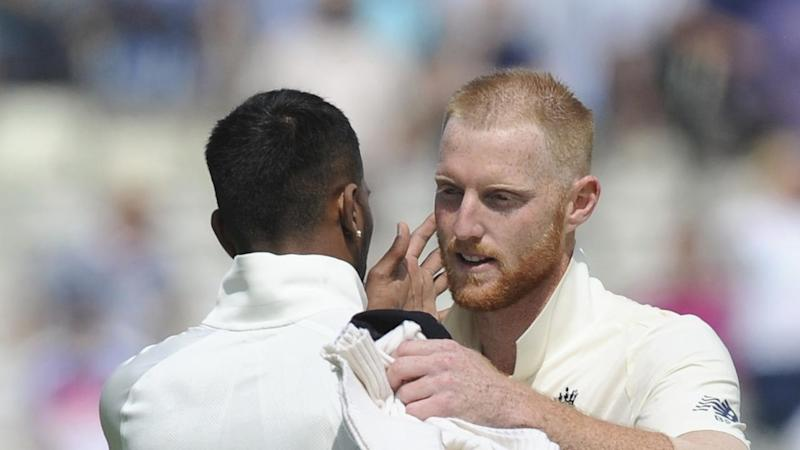 England's Ben Stokes (4-40) delivered the telling blows on the fourth morning against India