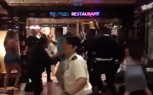 23 members of an extended family were kicked off a ten-day cruise in the South Pacific after a mass brawl - YouTube / 3AWRadio