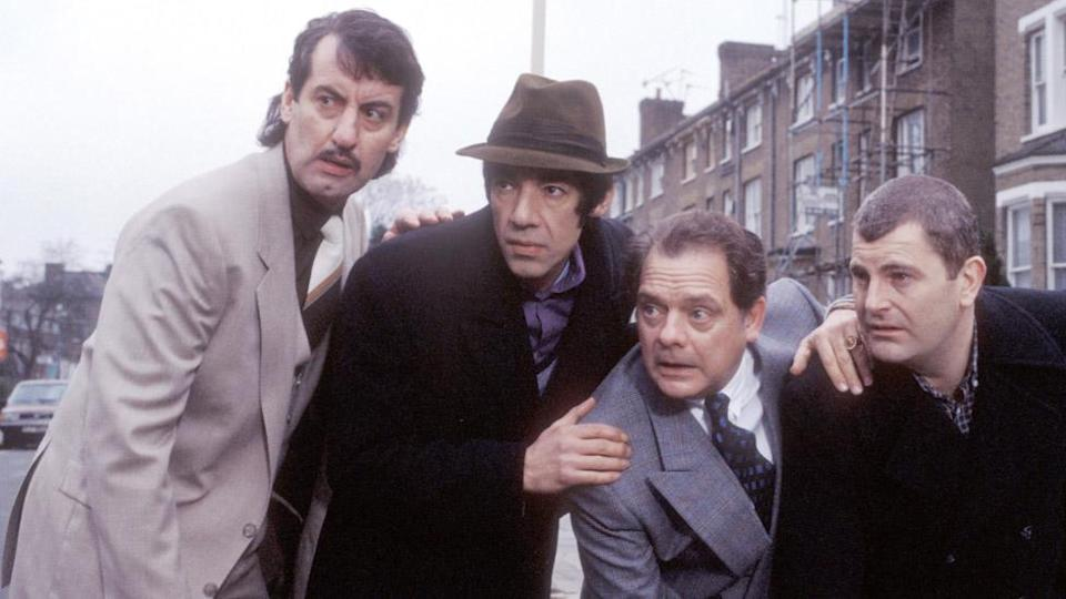 John Challis (left) in Only Fools and Horses