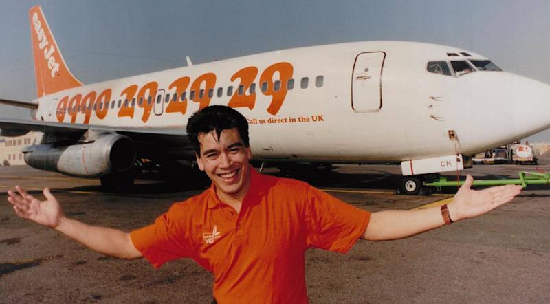 Orange blossom: Tony Anderson tells the story of how the airline grew: Tony Anderson