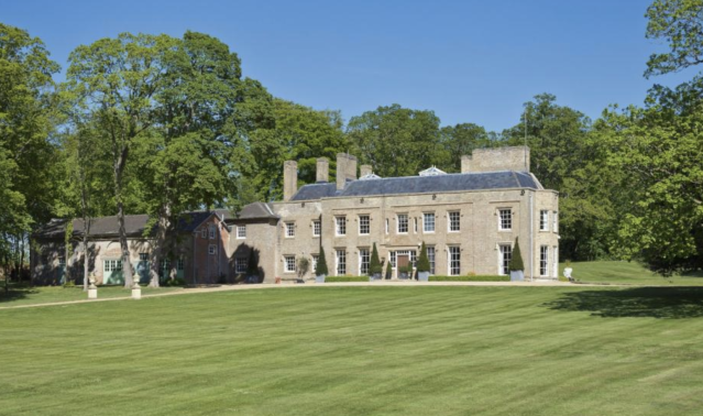 The Grade II-listed mansion is for sale for £6.5m. (Rightmove)