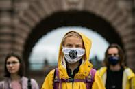 Swedish climate activist Greta Thunberg has slammed the inequality in global vaccine distribution