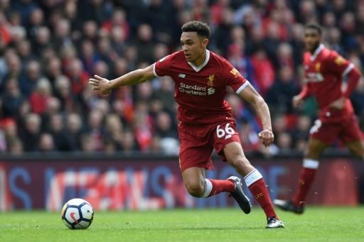 Rising star: Trent Alexander-Arnold is hoping to get the better of Cristiano Ronaldo in Saturday's Champions League final