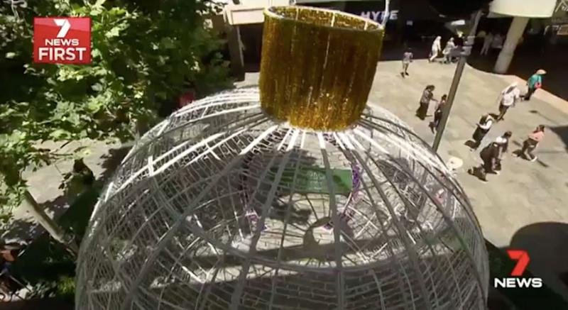 Instead, there will be Christmas installations around the city. Source: 7 News