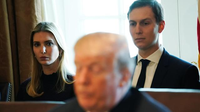 Report: Trump Wants His Chief Of Staff To Get Rid Of Jared And Ivanka