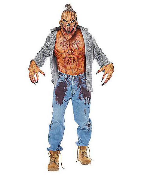"""<p><strong></strong></p><p>spirithalloween.com</p><p><strong>$59.99</strong></p><p><a href=""""https://go.redirectingat.com?id=74968X1596630&url=https%3A%2F%2Fwww.spirithalloween.com%2Fproduct%2Fscary-pumpkin-costume-set%2F149621.uts%3FExtid%3Dsf_froogle%26mrkgcl%3D267%26mrkgadid%3D3344786648%26product_id%3D01359421%26crtp%3Dpaidsearch%26adpos%3D1o1%26creative%3D360511783368%26device%3Dc%26network%3Dg%26gclid%3DCjwKCAjw2qHsBRAGEiwAMbPoDF8fx9-Gn09cxlESjJFgvTME7DqvtwRKSKimKkLASIIrDf4cXyaeMxoCiJwQAvD_BwE%26gclsrc%3Daw.ds&sref=http%3A%2F%2Fwww.womansday.com%2Fstyle%2Fg22509316%2Fscary-halloween-costume-ideas%2F"""" target=""""_blank"""">SHOP NOW</a></p><p>Who knew that pumpkins could come to life and become one of the scariest things you've ever seen?  </p>"""
