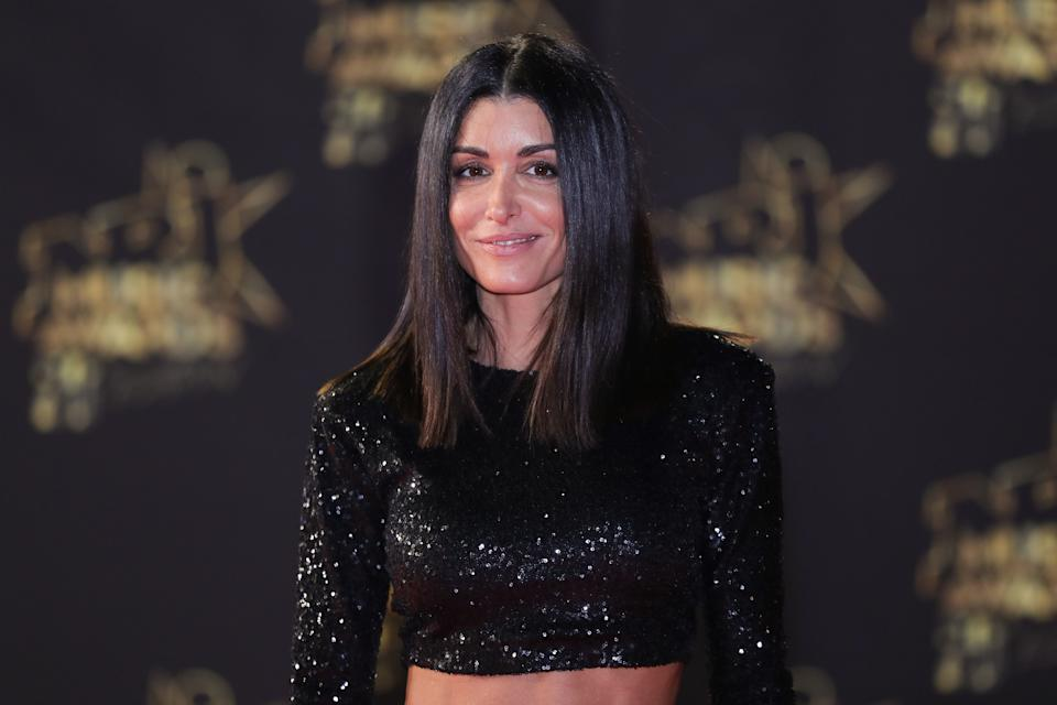 French singer Jenifer Bartoli aka Jenifer poses on the red carpet upon her arrival to attend the 20th NRJ Music Awards ceremony at the Palais des Festivals, in Cannes, southeastern France, on November 10, 2018. (Photo by Valery HACHE / AFP)        (Photo credit should read VALERY HACHE/AFP/Getty Images)