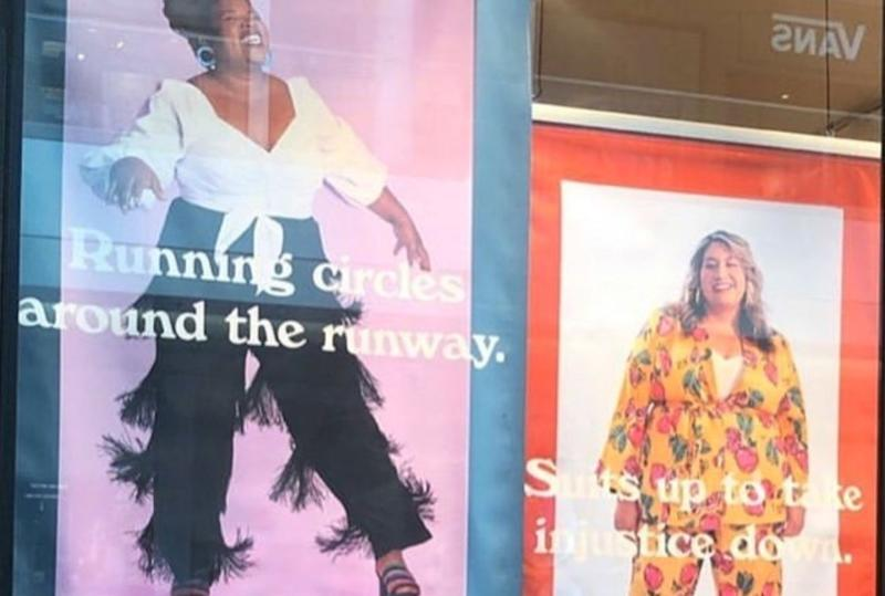 Arizona Rep. Alma Hernandez is part of plus-sized clothing brand ELOQUII's #ModelThat campaign. (Photo: Instagram)