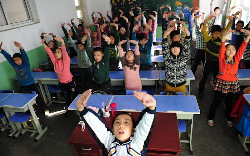 A Chinese classroom - Getty Images Contributor