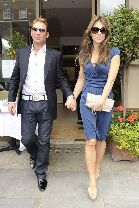 The loved-up duo in June this year. Credit: Getty Images