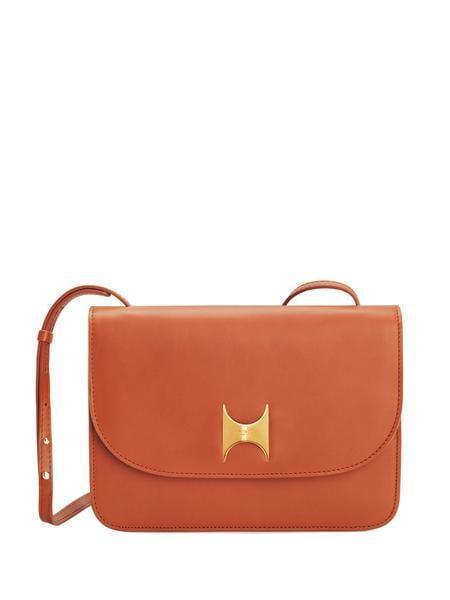 <p>You can never go wrong carrying this chic and classic <span>Kintu New York Crossbody</span> ($550).</p>