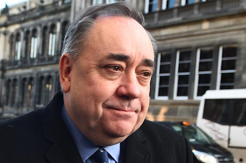 Former Scottish first minister and pro-independence figurehead Alex Salmond arrives at court in Edinburgh on January 24, 2019 after being charged with sexual harassment: AFP/Getty Images