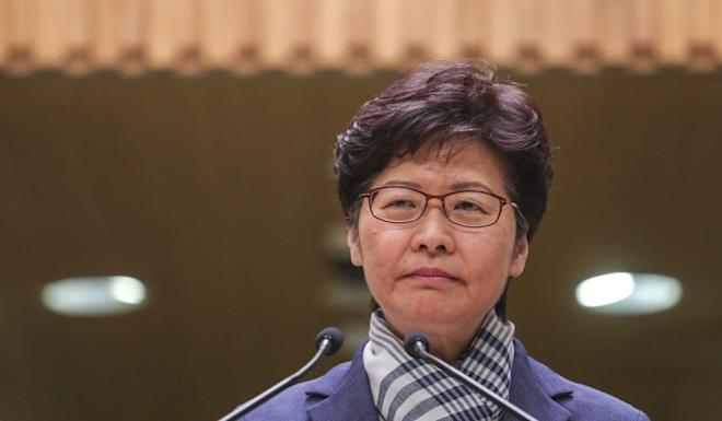 Carrie Lam says the government will not yield in the face of violence. Photo: May Tse