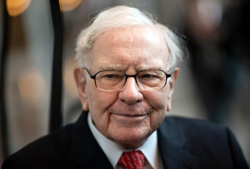 Warren Buffett, CEO of Berkshire Hathaway, attends the 2019 annual shareholders meeting in Omaha, Nebraska, May 3, 2019. (Photo by Johannes EISELE / AFP) (Photo credit should read JOHANNES EISELE/AFP via Getty Images)