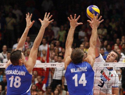 Serbian men's volleyball team are currently in 7th place on the world list