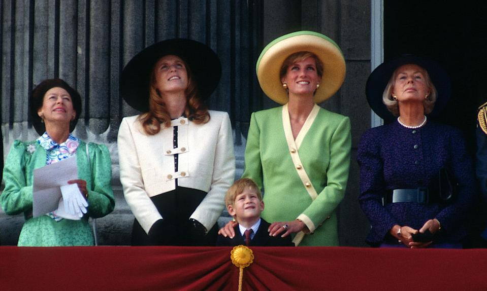 Princess Diana and Sarah Ferguson both stepped away from some duties. [Photo: Getty]