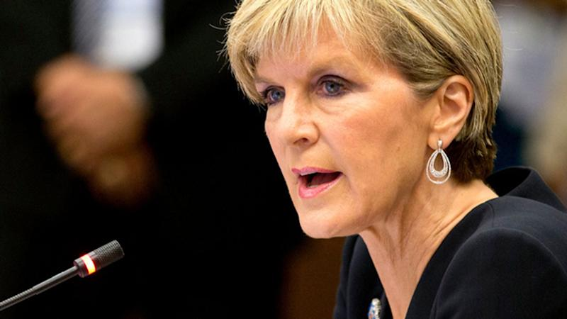 Julie Bishop claims IS making chemical weapons