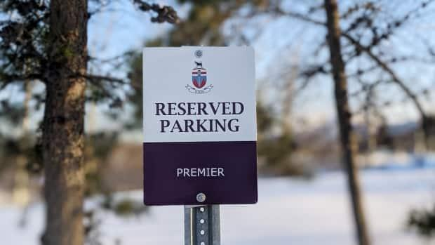 Sandy Silver gets to keep this parking space — for now. (Chris Windeyer/CBC - image credit)
