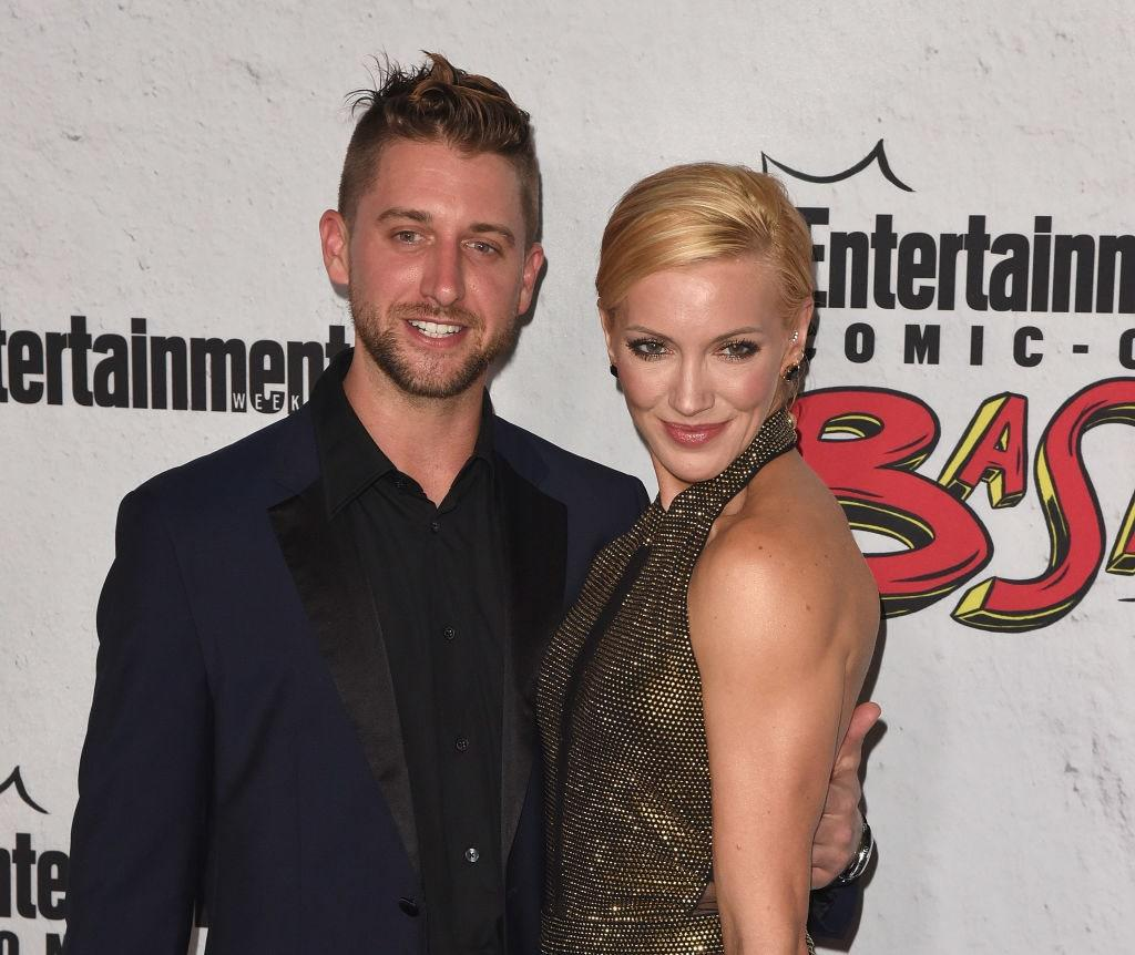 "<p><em>Arrow</em> actor Katie Cassidy filed for divorce from husband Matthew Rodgers in January, <a href=""https://www.tmz.com/2020/01/08/katie-cassidy-files-divorce-husband-arrow-cw-split/"">according to TMZ</a>. The couple were married for 13 months before Cassidy filed documents in an L.A. superior court.</p> <p>Following news of the divorce, Cassidy posted a photo on <a href=""https://www.instagram.com/p/B7FTTzTAtWB/"">Instagram</a> that shows text reading, ""'You're going to be happy,' said life, 'but first I'll make you strong.'""</p>"