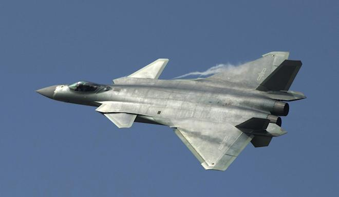 A Chinese J-20 stealth fighter has entered mass production. Photo: EPA-EFE