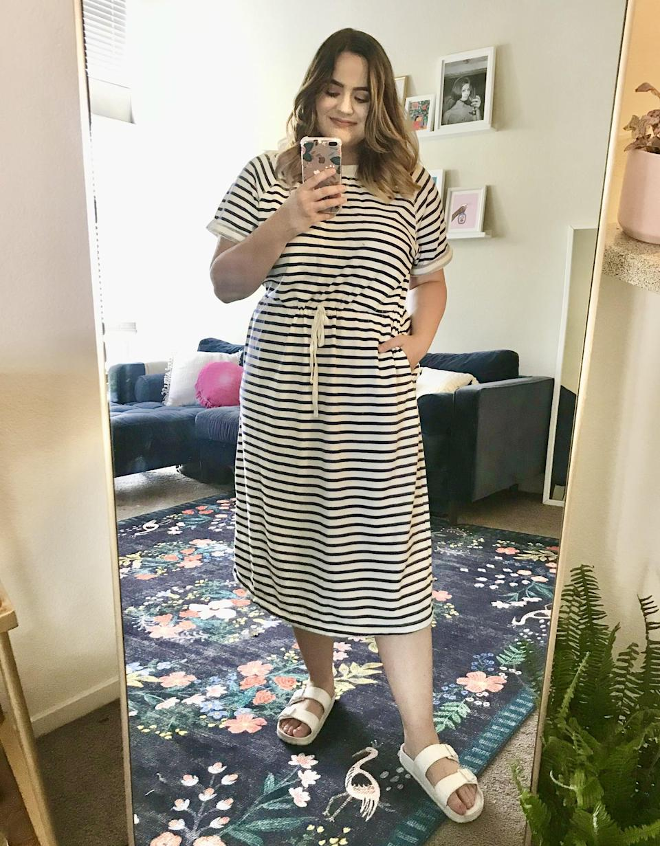 The Comfiest Dress For Hanging at Home