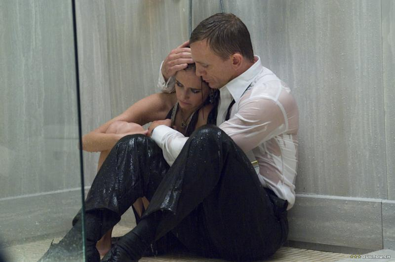 Eva Green and Daniel Craig in Casino Royale (Credit: MGM/Sony)