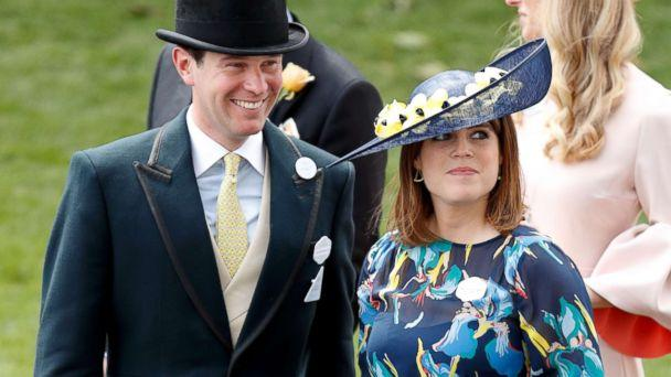 PHOTO: Jack Brooksbank and Princess Eugenie attend day 4 of Royal Ascot at Ascot Racecourse, June 23, 2017, in Ascot, England. (Max Mumby/Indigo/Getty Images)