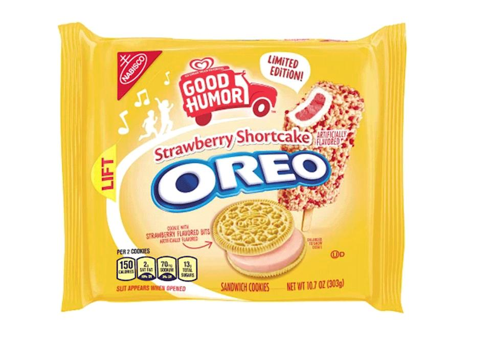 good humor strawberry shortcake oreo pack limited edition