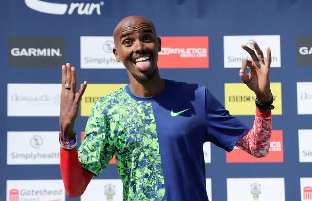 Sir Mo Farah is targeting more Olympic gold (Richard Sellers/PA)