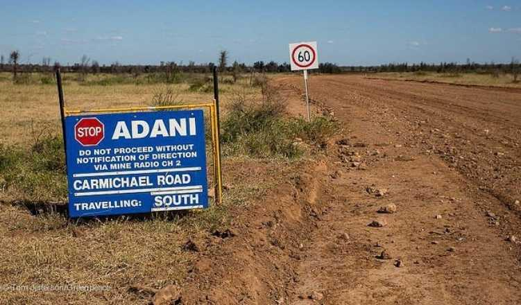 Adani-owned coal mine a flashpoint for Australian election