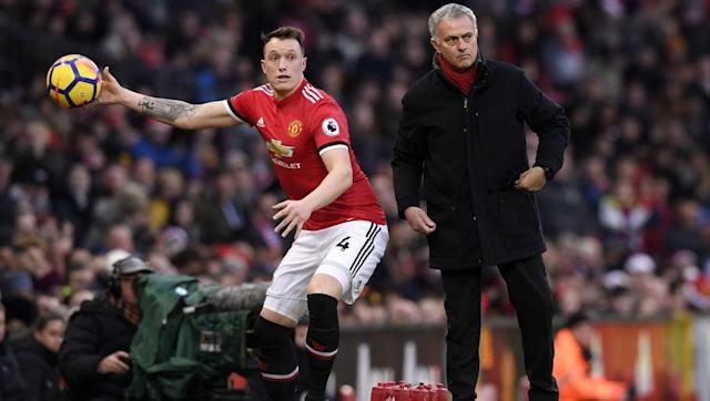 "<p>Not only does Phil Jones put his socks and boots on a certain way depending on wether he's playing at home or away(left foot first for home, right foot for away), he avoids stepping on any of the pitch markings where possible as he thinks this may bring him bad luck, as reported by <a href=""http://www.manutd.com/en/News-And-Features/United-Uncovered/News/2013/Feb/Issue-5/video-player-superstitions-united-uncovered-issue-five.aspx"" rel=""nofollow noopener"" target=""_blank"" data-ylk=""slk:manutd.com"" class=""link rapid-noclick-resp"">manutd.com</a></p> <br><p>If this isn't enough for you, he also steps over the markings with a certain foot, again using the home or away criteria. </p>"