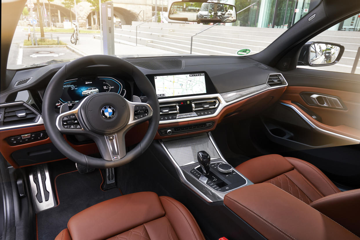 The 3's interior is a well-finished place to be