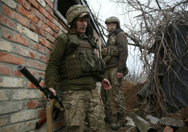 Ukraine is seeking 'practical' support from Western powers in response to a build-up of Russian troops along their shared border